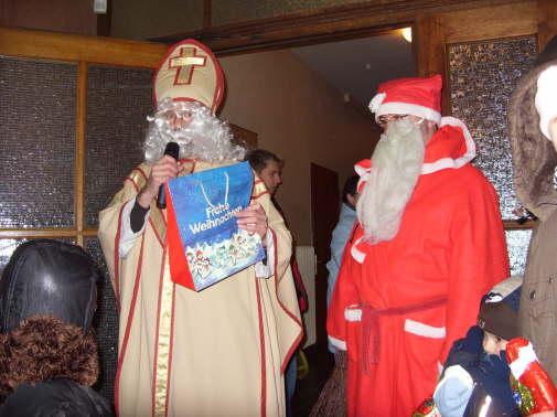 Nikolaus beim LCV