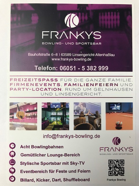 Frankys Bowling
